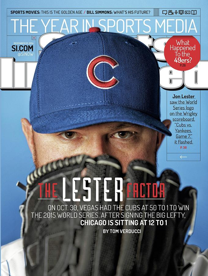 The Lester Factor Sports Illustrated Cover Photograph by Sports Illustrated