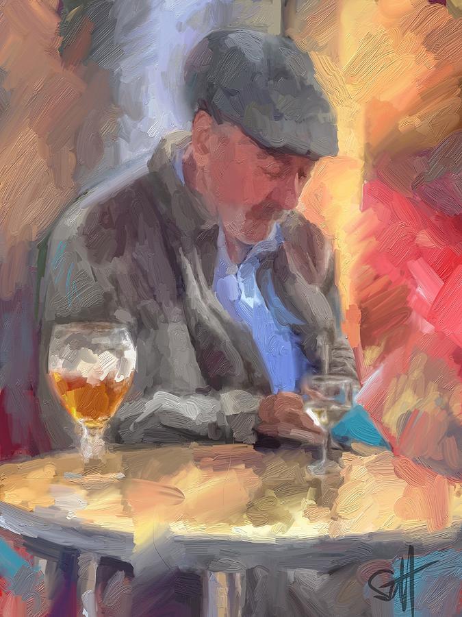 The Letter Digital Art by Scott Waters