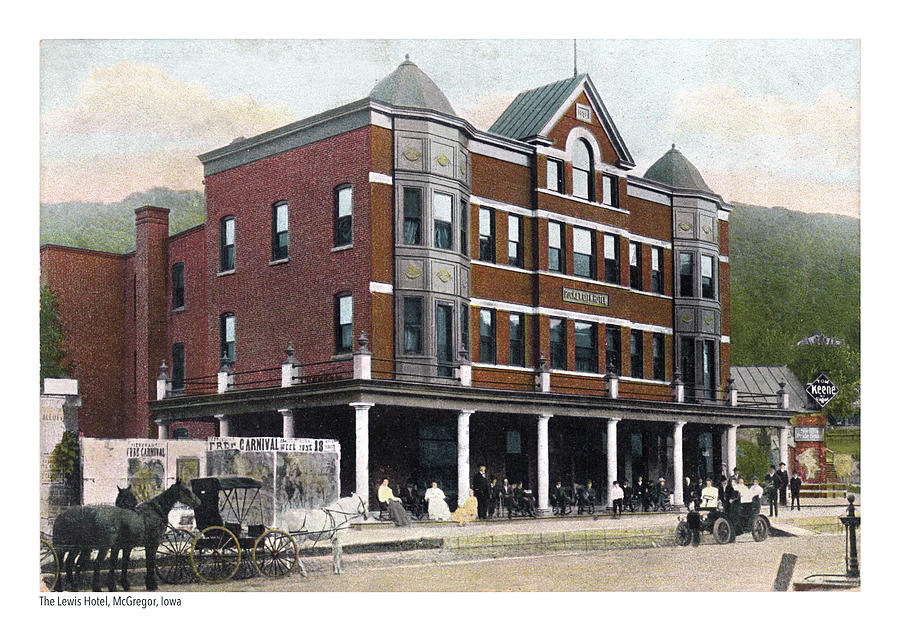 The Lewis Hotel Photograph