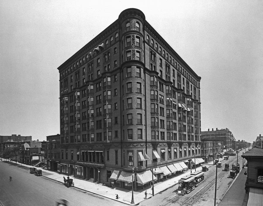 The Lexington Hotel Photograph by Chicago History Museum