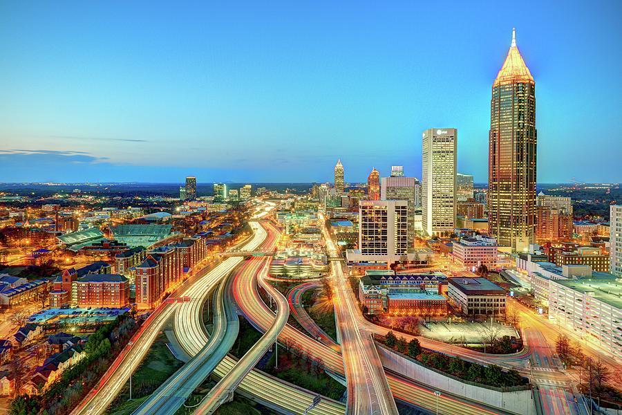 The Lifeblood Of Atlanta Photograph by Photography By Steve Kelley Aka Mudpig