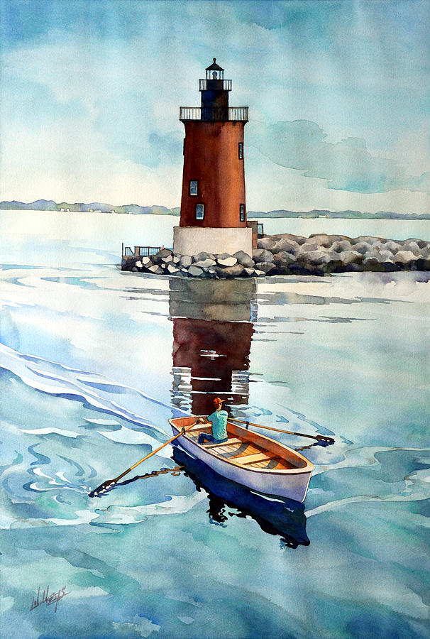 The Lighthouse Keeper by Mick Williams