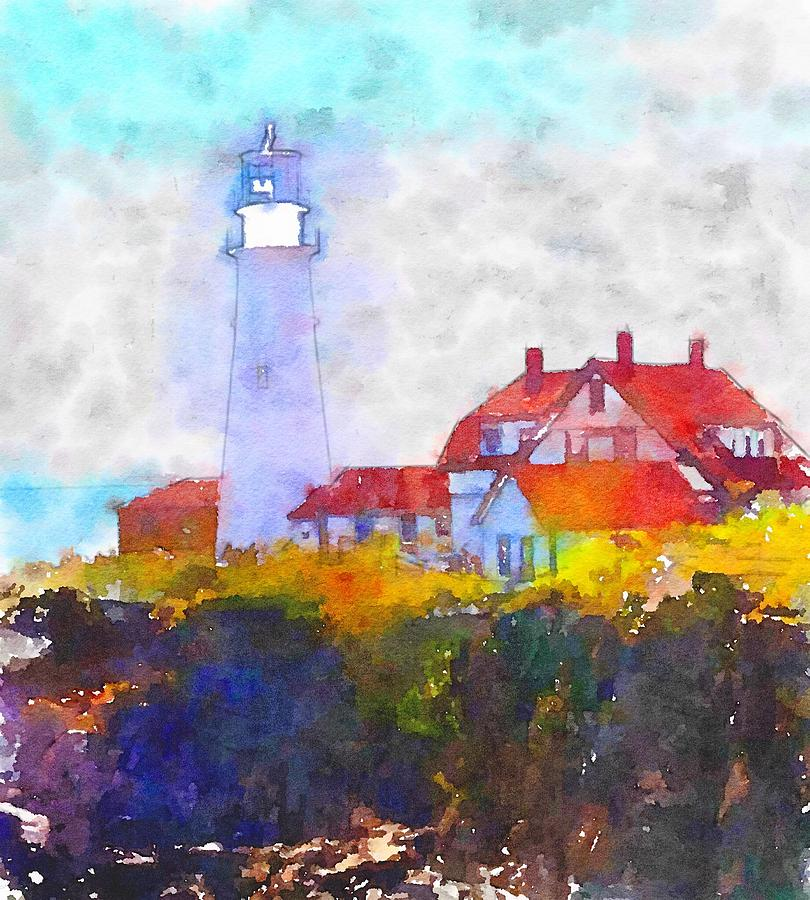 The Lighthouse by Wade Binford
