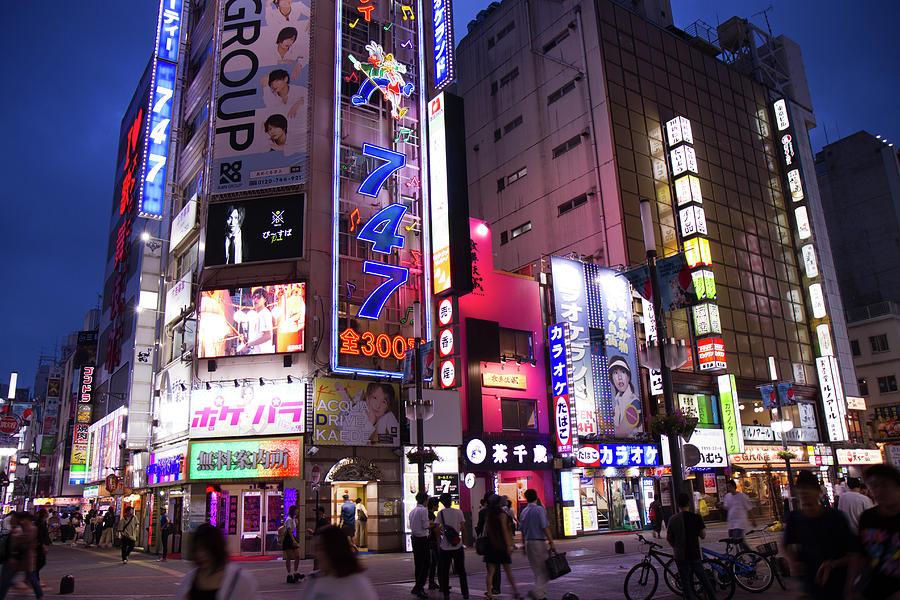 The Lights of Shinjuku by Nathan Rupert