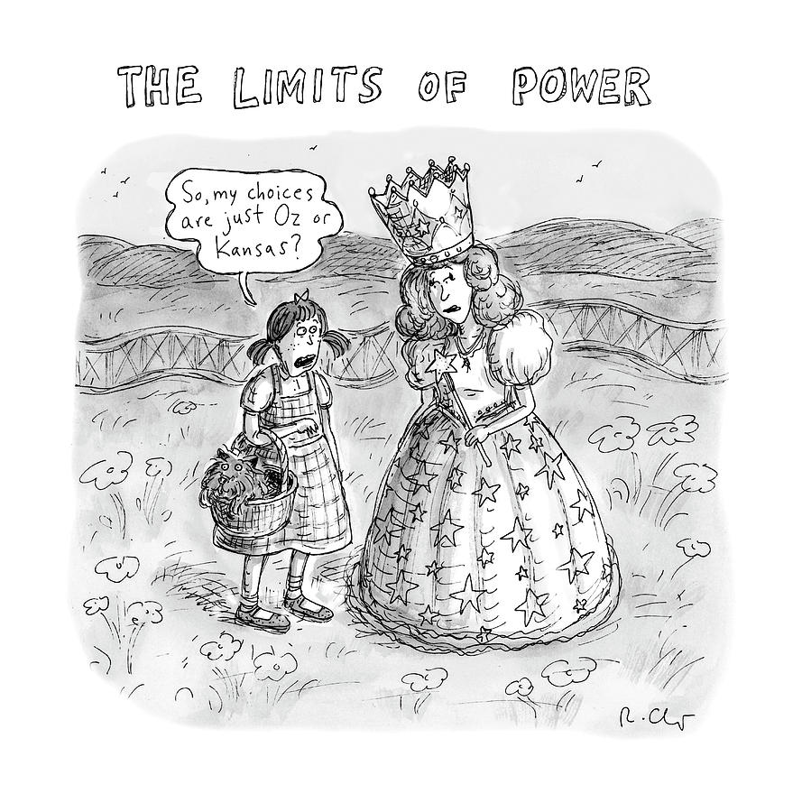 The Limits Of Power Drawing by Roz Chast