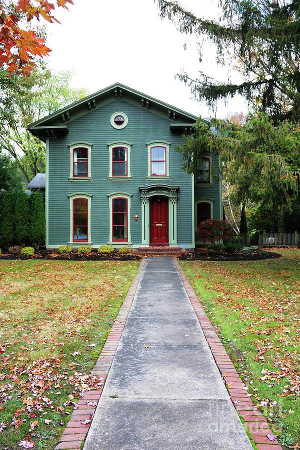 The Lincoln Door House Wellsboro Pennsylvania  2689fx Photograph