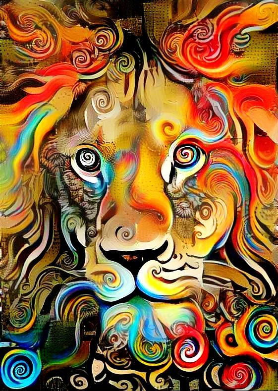 The Lion King Abstract