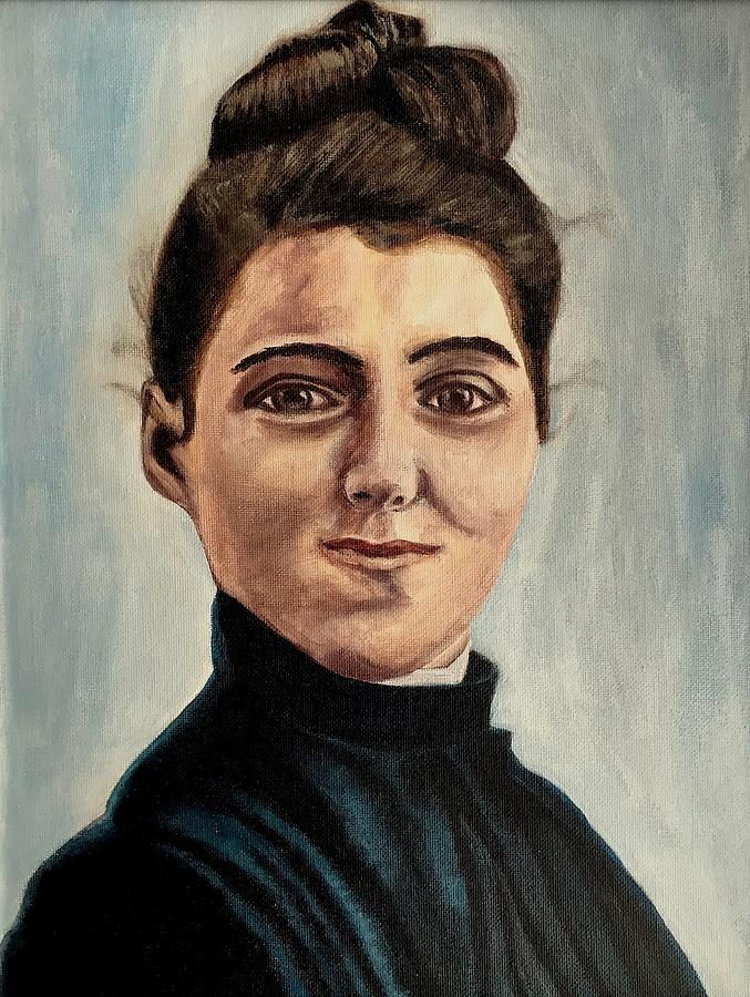Therese Of Lisieux Painting - The Little Flower by Mikayla Ruth Koble