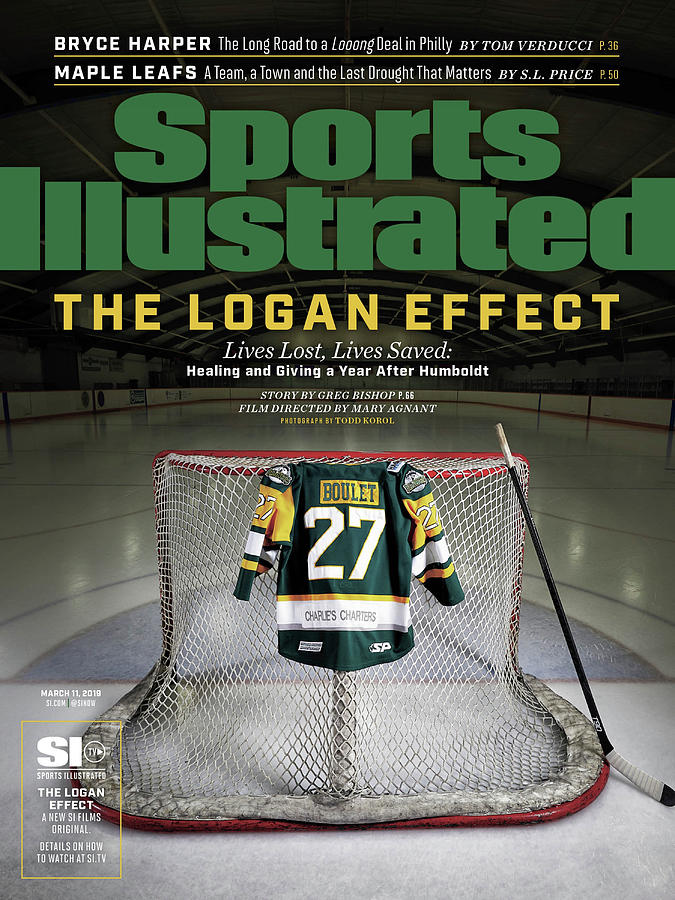 The Logan Effect. Lives Lost, Lives Saved Healing And Sports Illustrated Cover Photograph by Sports Illustrated