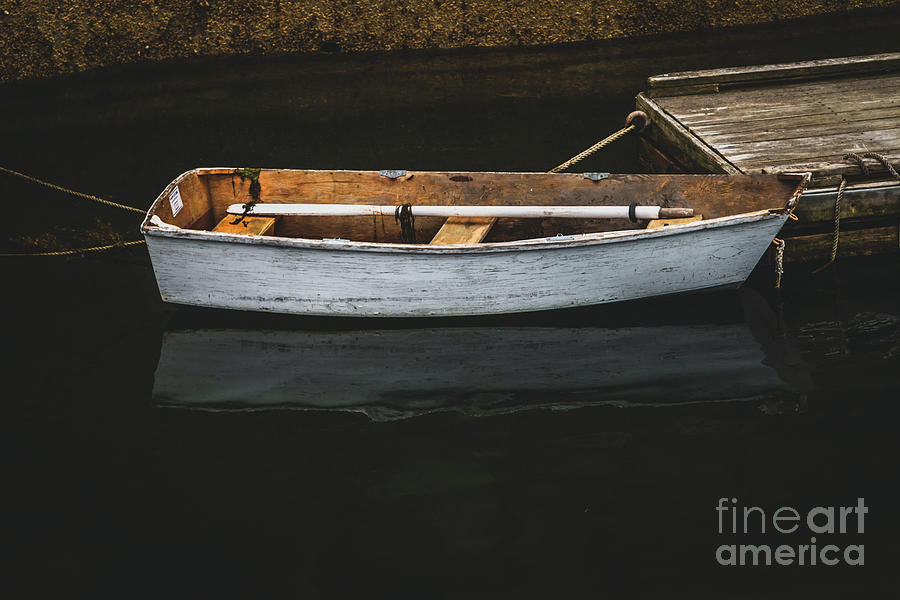 The Lone Dinghy Photograph
