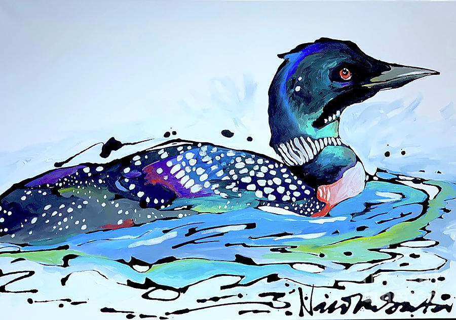 The Loon by Nicole Gaitan