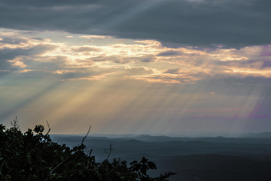The Lord Overlooking Mt. Cheaha by James-Allen