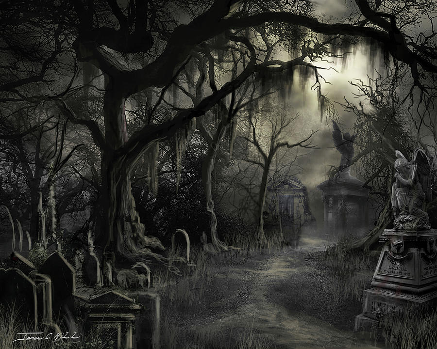 The Lost Cemetery by James Christopher Hill