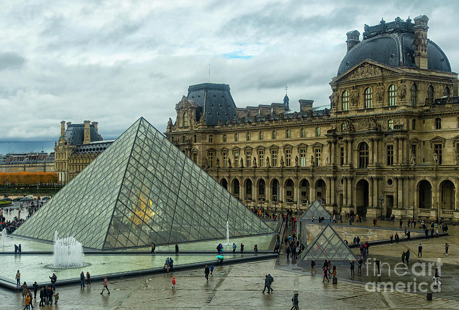 The Louvre Palace The Louvre Museum Paris France Musee Du Louvre Photograph