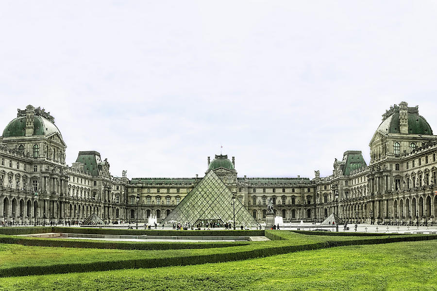 The Louvre, Paris by Kay Brewer