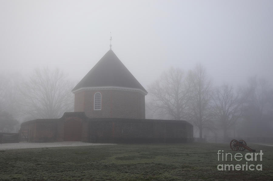 The Magazine in Fog by Rachel Morrison