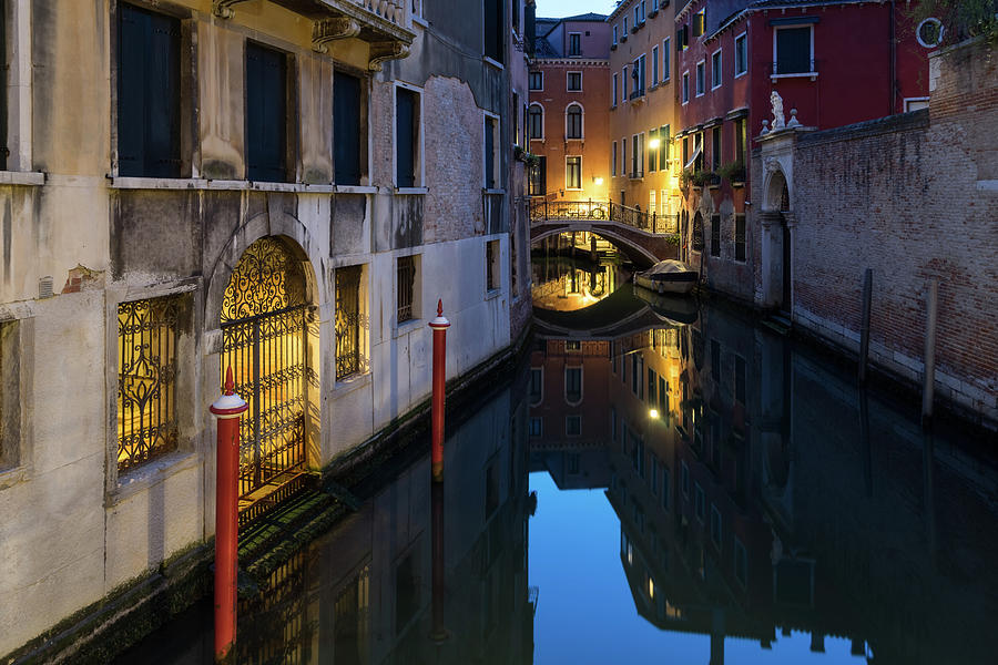 The Magic of Small Canals in Venice Italy - Sestiere Castello by Georgia Mizuleva