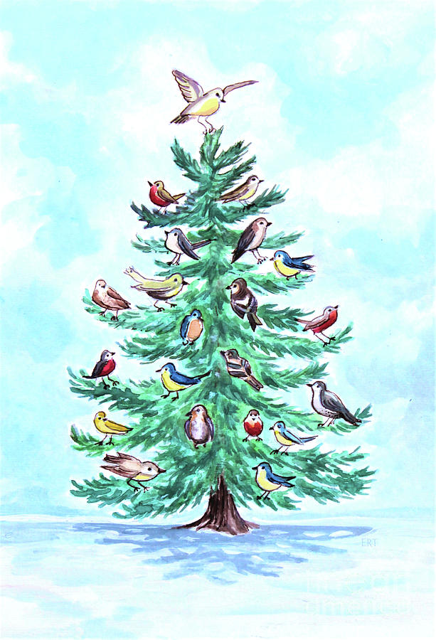 The Magical Christmas Tree by Elizabeth Robinette Tyndall