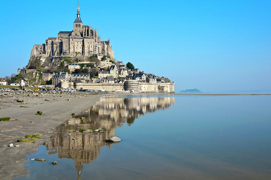 The Magical Mont Saint-michel Photograph by Paul Biris