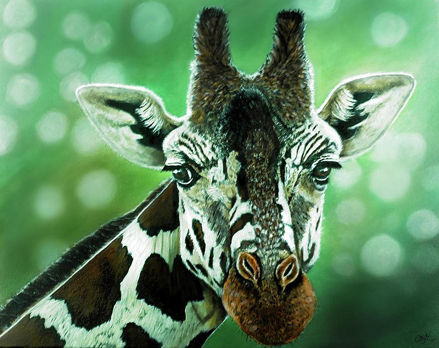 The Majestic Giraffe by Christina M Hale