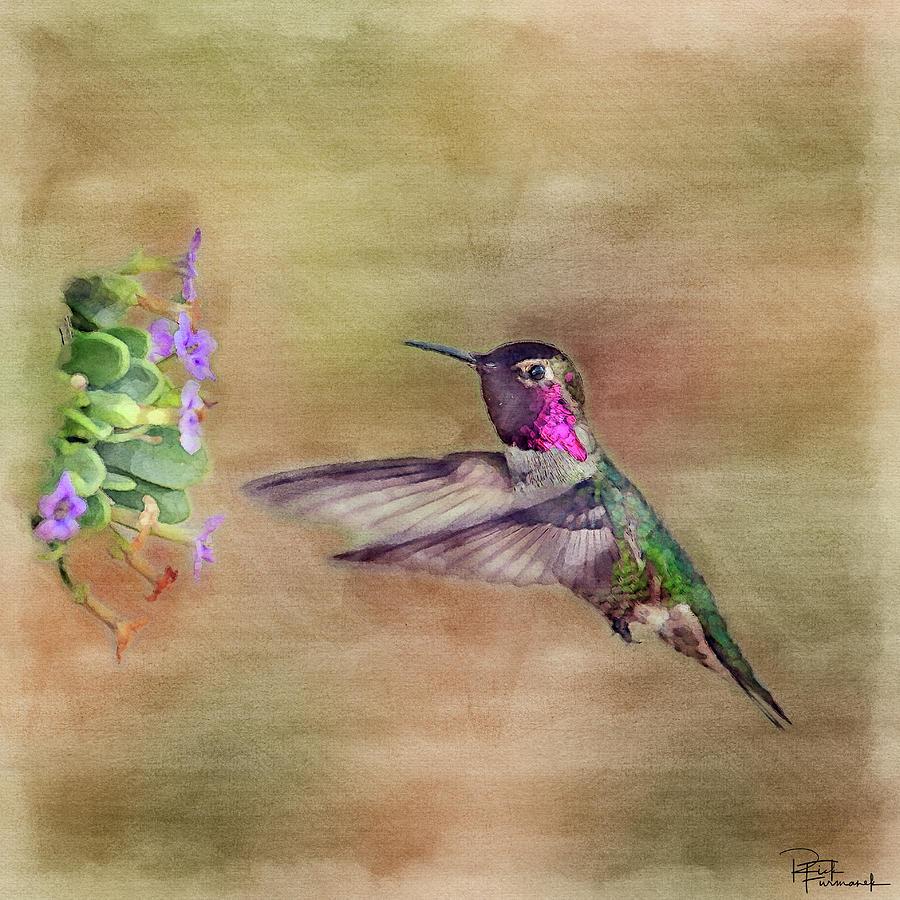 The Maker's Handiwork in Digital Watercolor by Rick Furmanek