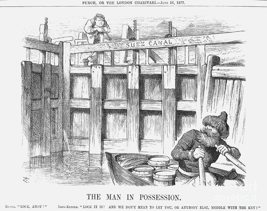 The Man In Possession, 1877. Artist Drawing by Print Collector