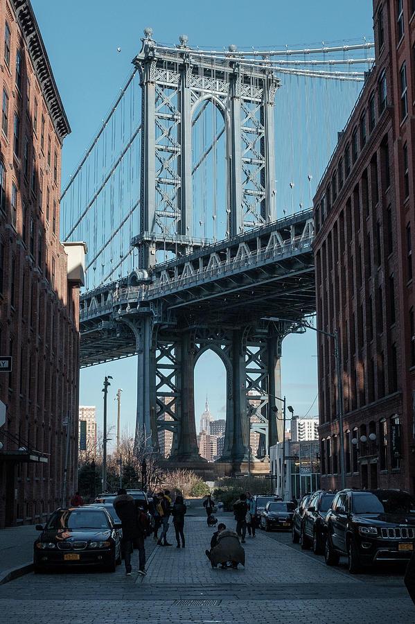 The Manhattan Bridge View in DUMBO by Doug Ash