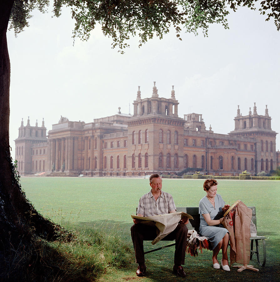 The Marlboroughs Photograph by Slim Aarons