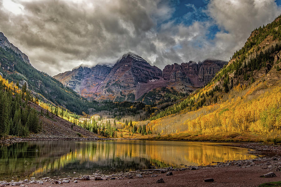 The Maroon Bells - Aspen, Colorado by William Christiansen