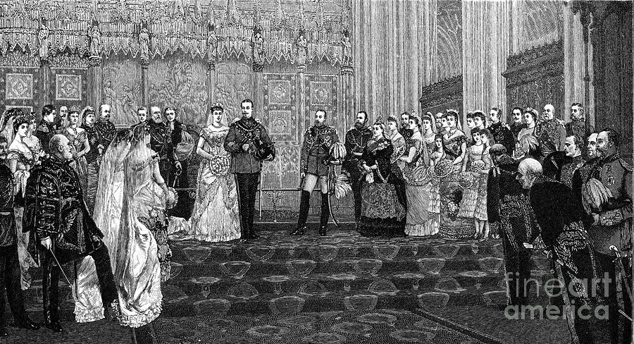 The Marriage Of The Duke And Duchess Drawing by Print Collector