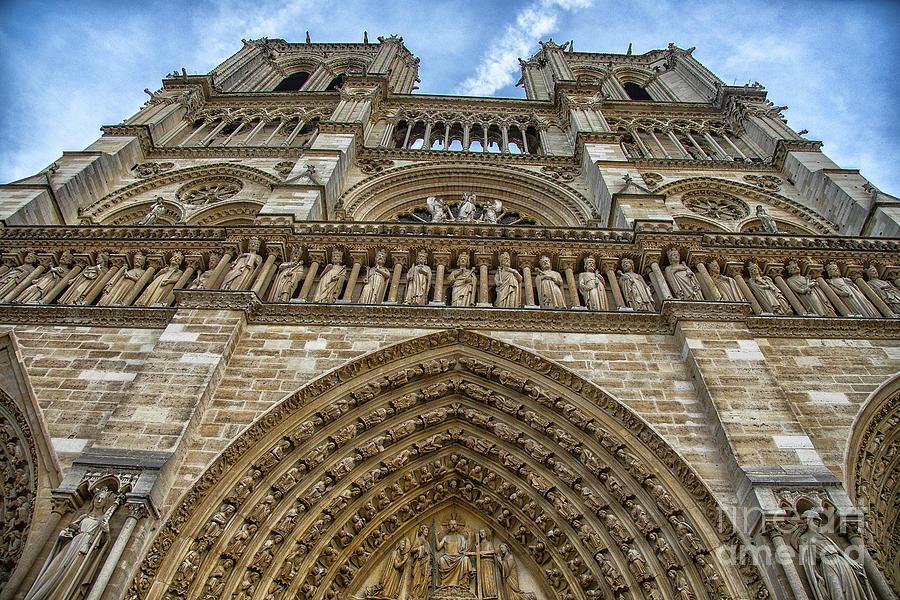 The Masterpiece Cathedral Notre Dame de Paris France by Wayne Moran