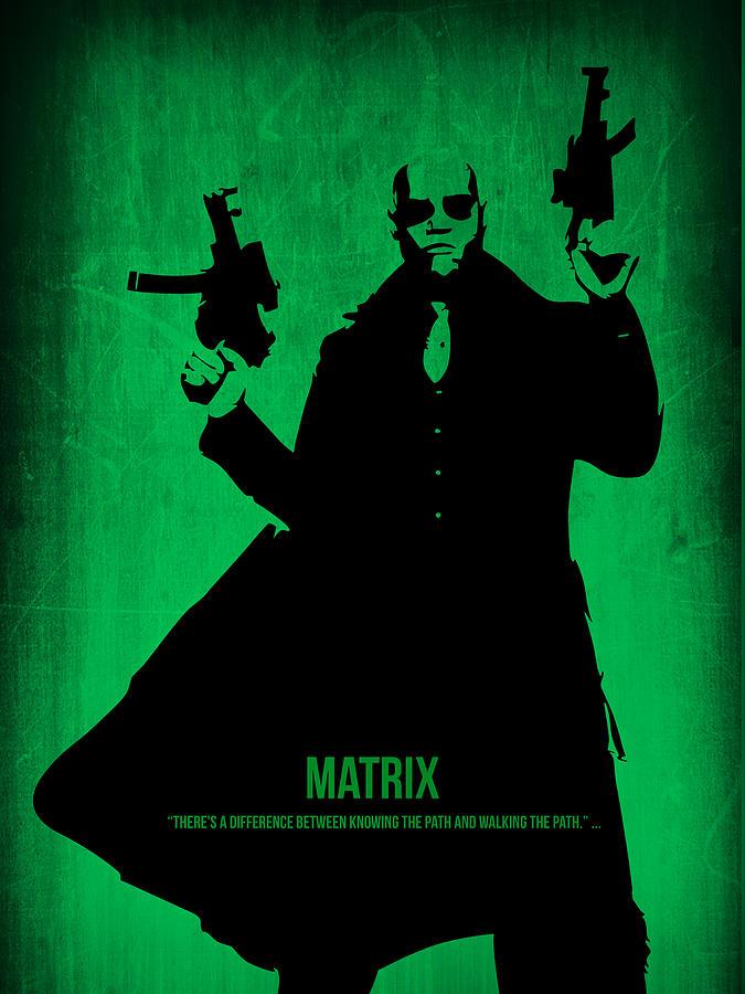 The Matrix Digital Art - The Matrix  by Naxart Studio
