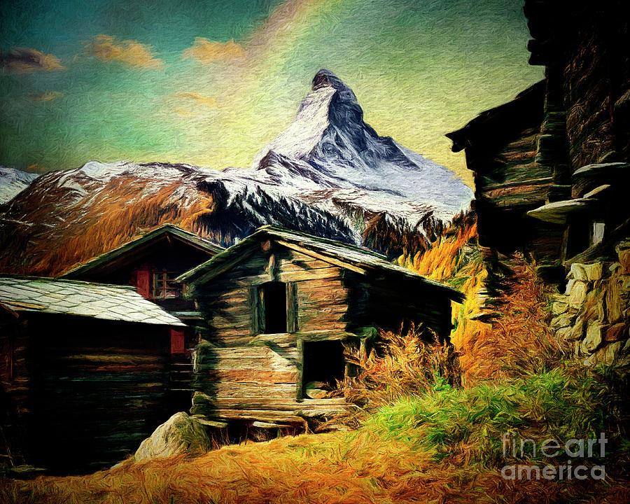 The Matterhorn by Edmund Nagele