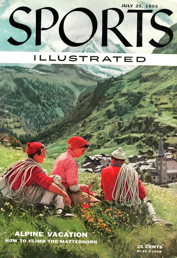 The Matterhorn Sports Illustrated Cover Photograph by Sports Illustrated