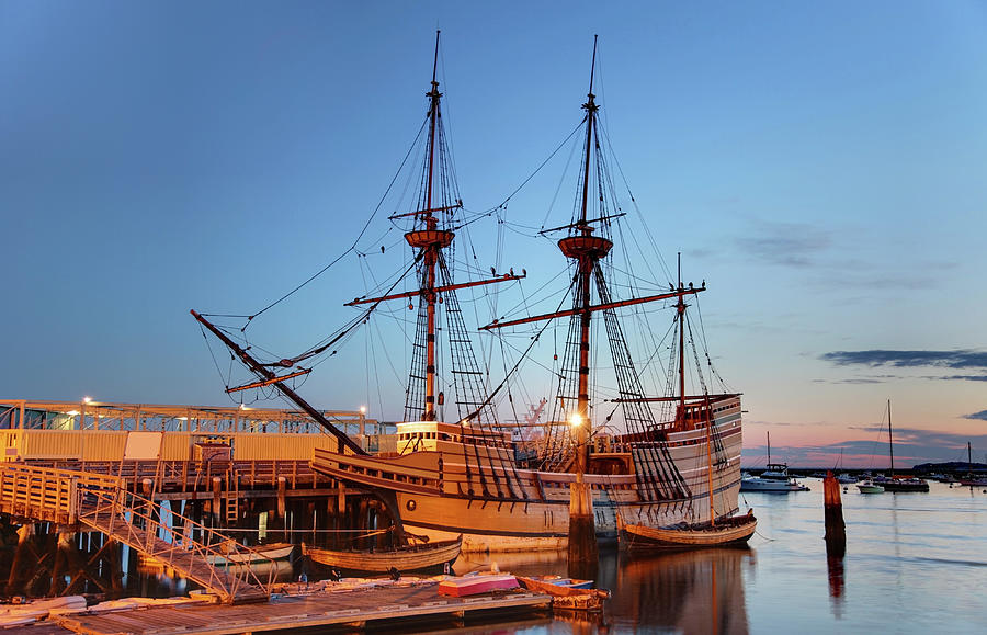 The Mayflower II Photograph by Denistangneyjr