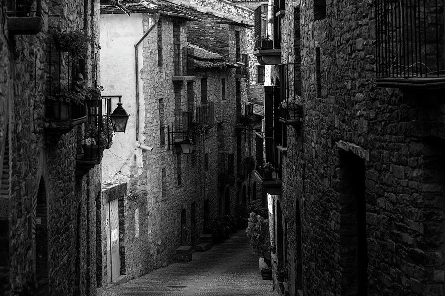 The medieval village of Ainsa in Huesca, Spain by Vicen Photography