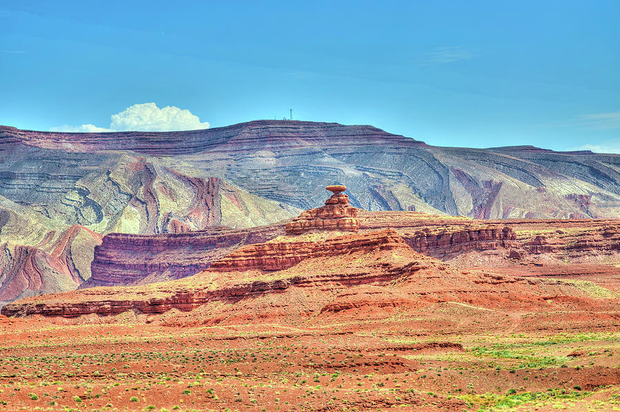 The Mexican Hat Rock - Utah Photograph by Www.35mmnegative.com