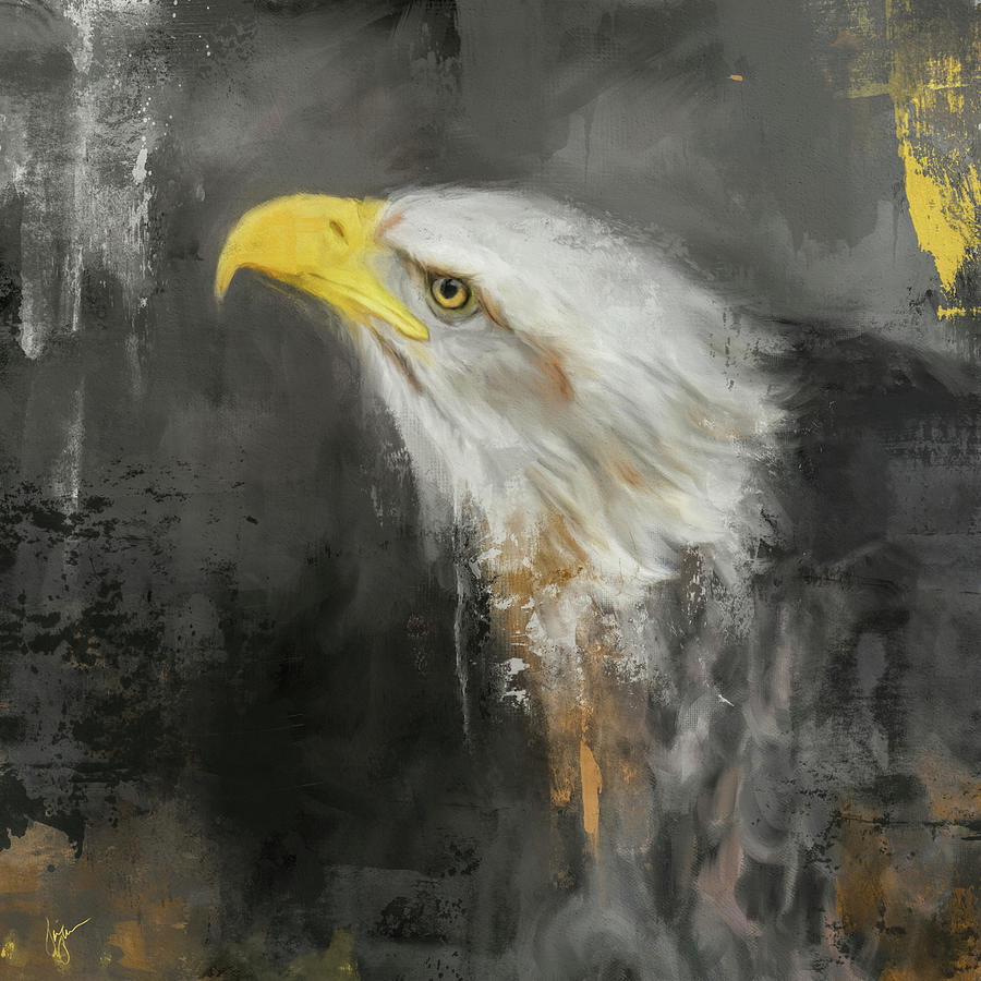 The Mighty Bald Eagle by Jai Johnson