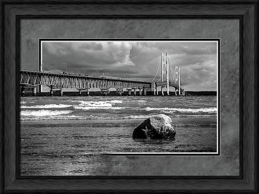The Mighty Mac BW by Rick Bartrand
