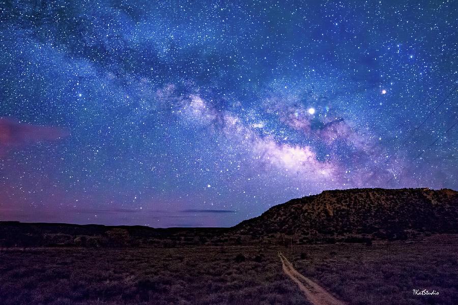 The Milky Way at El dorado by Tim Kathka
