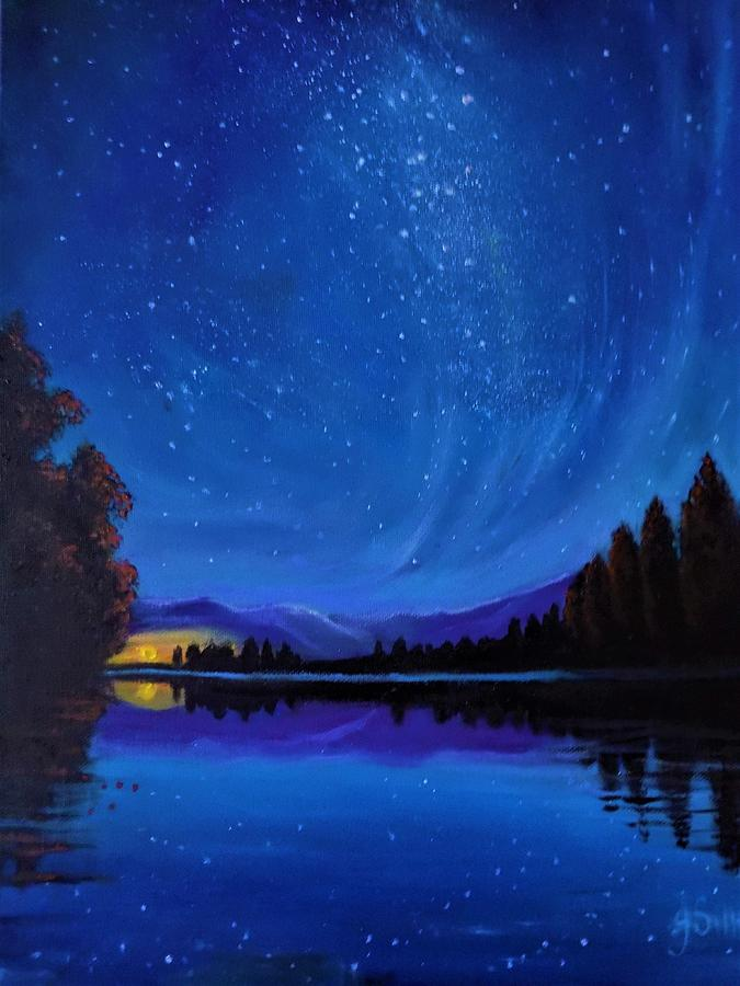 The Milky way by Janet Silkoff