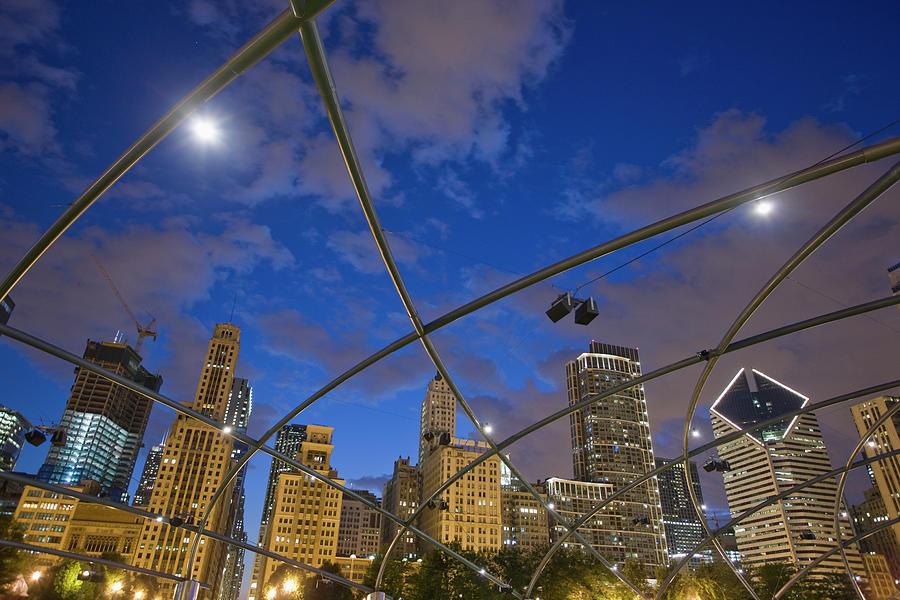 The Millenium Park. Jay Pritzker Photograph by Maremagnum