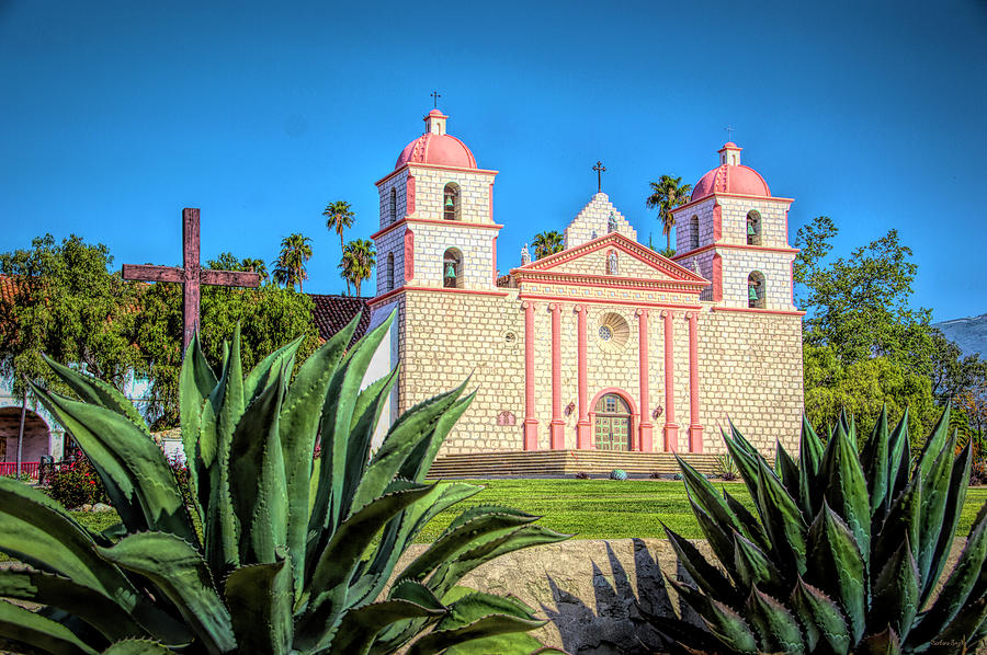 The Mission Santa Barbara by Barbara Snyder