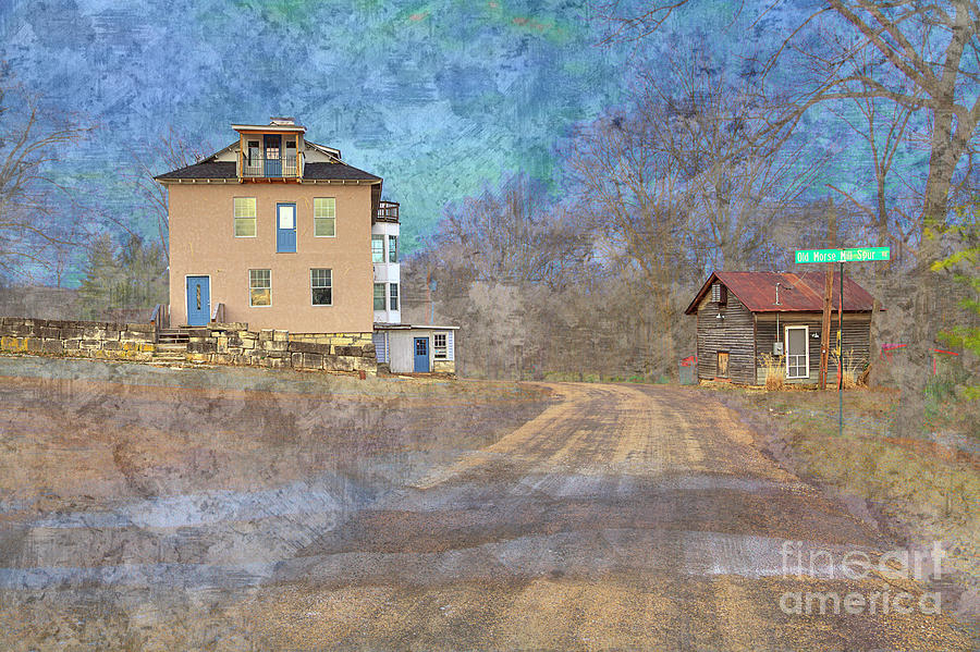 Explore Digital Art - The Morse Mill Hotel  by Larry Braun