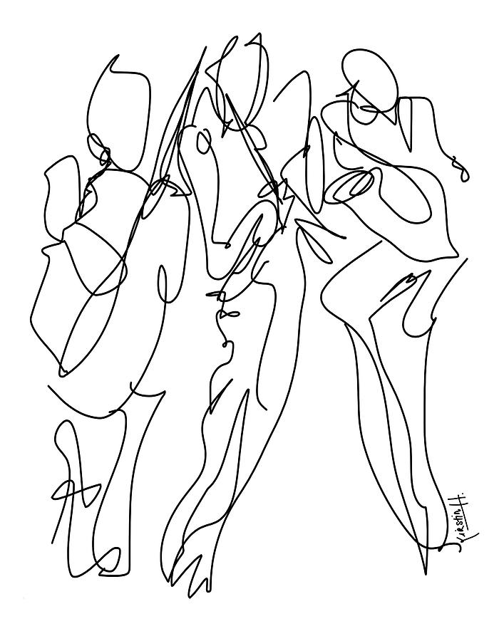 The Musicians Drawing