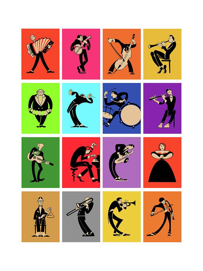 Musicians Photograph - The Musicians by Mark Rogan