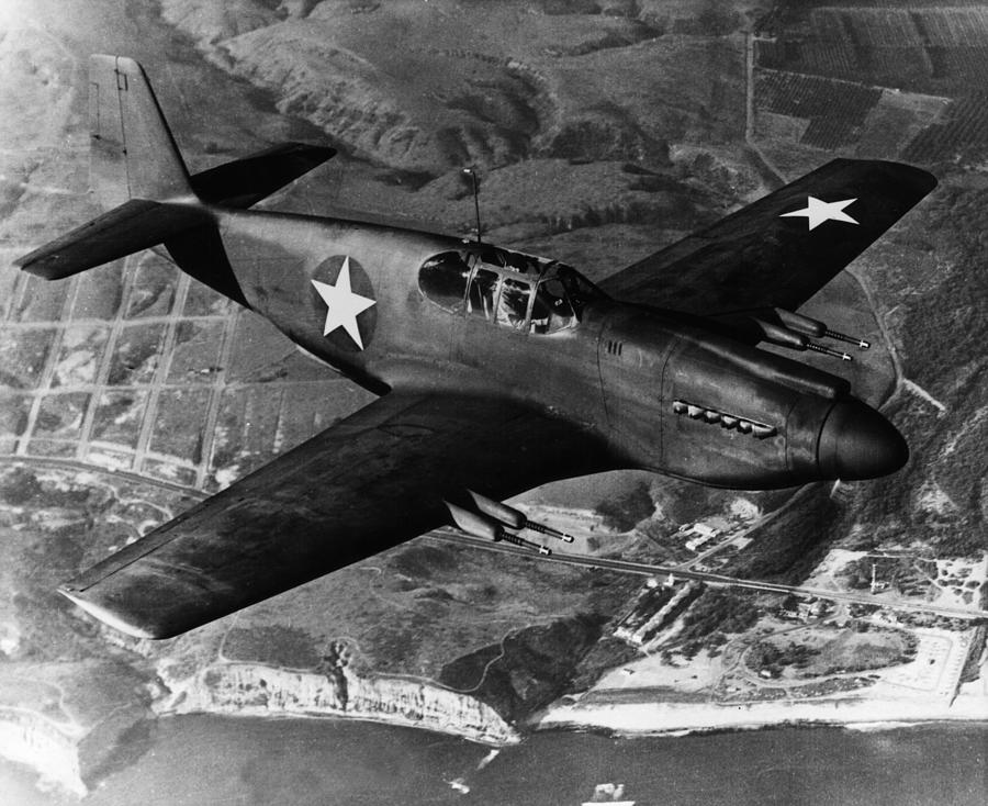 The Mustang Photograph by American Stock Archive
