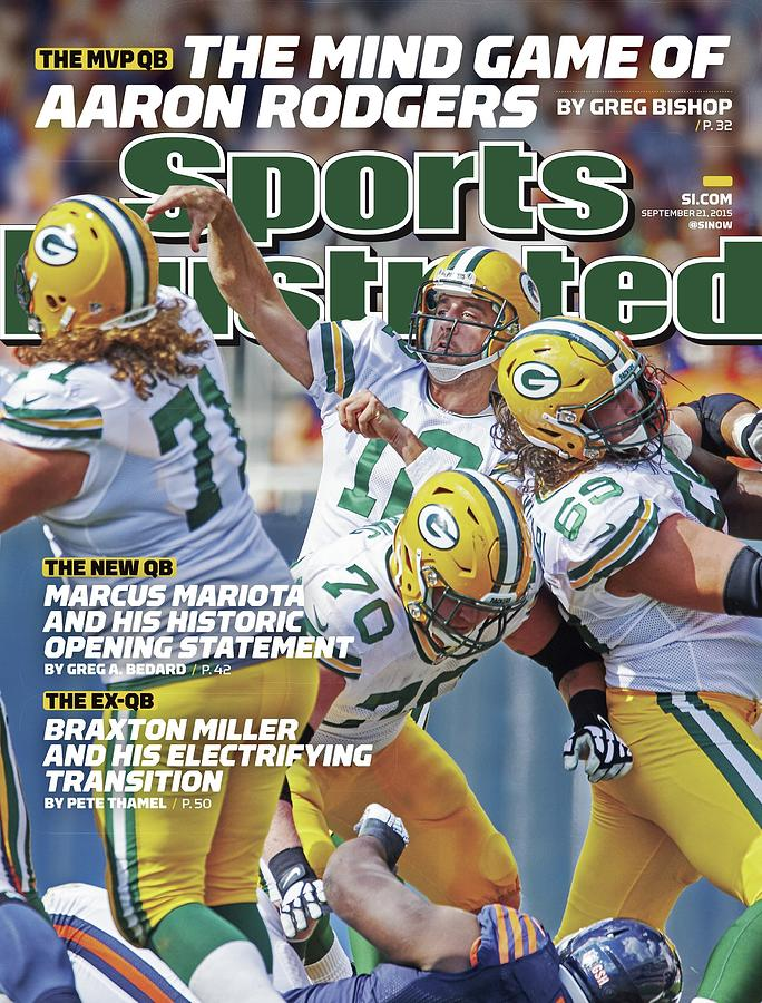 The Mvp Qb The Mind Game Of Aaron Rodgers Sports Illustrated Cover Photograph by Sports Illustrated