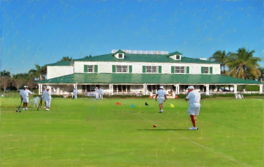 The National Croquet Center by Thomas Tribby