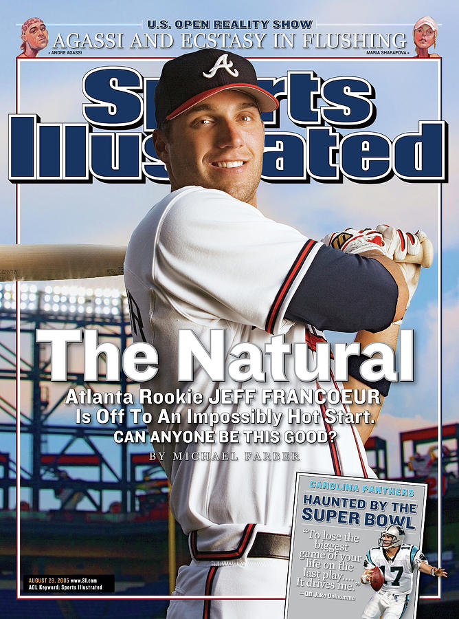 The Natural Atlanta Rookie Jeff Francoeur Is Off To An Sports Illustrated Cover Photograph by Sports Illustrated